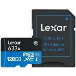Photo of Lexar High-Performance microSDHC 128GB 633x W SD Reader