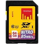 Photo of Strontium Technology STRONTIUM Nitro Series 64GB Ultra High Speed SDXC UHS-1 566X Card up to 85MB/s