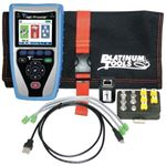Photo of Platinum TOOLS Net Prowler Cabling & Network Tester. Supports IPv4/v6. Verify DHCP & DNS