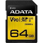 A-Data ADATA Premier ONE UHS-II SDXC Card 64GB