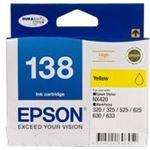 Photo of Epson 138 High Capacity Yellow ink cartridge Workforce 840 633 630 625 525 60 325 320