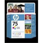 HP 75 Tricolor Inkjet Print Cartridge