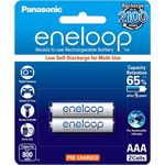 Photo of Panasonic BK-4MCCE/2BA Eneloop Rechargeable AAA 2pk reatil pack
