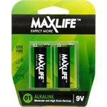 Photo of Maxlife 9V Alkaline Battery 2 Pack