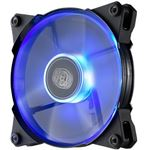 Photo of Cooler Master JetFlo 120 Blue LED Fan ultra-thin, Two silent mode adapters, high airflows