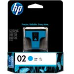 HP 02 AP Cyan Ink Cartridge