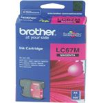Photo of Brother LC67 Magenta Ink Cartridge