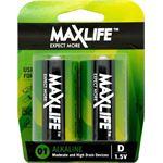 Photo of Maxlife D Alkaline Battery 2 Pack