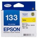 Epson 133 Standard Yellow Ink Cartridge For Stylus N11, NX125, NX420, WORKFORCE 320
