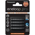 Photo of Panasonic BK-4HCCE/4BT Eneloop PRO AAA 4 Pack 950mAh designed for high drain devices