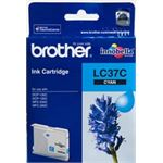 Photo of Brother LC37 Cyan Ink Cartridge