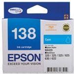 Photo of Epson 138 High Capacity Cyan ink cartridge Workforce 840 633 630 625 525 60 325 320