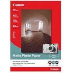Photo of Canon 40Sheet A3 Matt Photo Paper 170GSM MP101A3