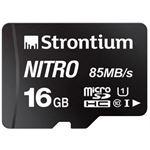 Photo of Strontium Technology Strontium Nitro 16GB micro SD Single Pack ? 85MB/s U1 Class