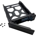 "Photo of Qnap HDD Tray for 3.5"" and 2.5"" drives without key lock, black, plastic with 6 x"