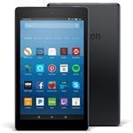 """Photo of Amazon Kindle Fire HD8 (2017) 8"""" 32GB Tablet (Special offer version) -Black"""