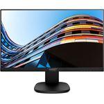 "Philips 24"" 1920x1080 IPS Monitor - Narrow Bezel VGA HDMI DisplayPort Speakers - Height Adjustable"