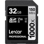 Photo of Lexar Professional 1000x SDHC/SDXC UHS-II 128CR
