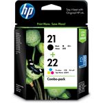 HP 21/22 Combo Pack Ink Cartridge