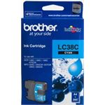 Photo of Brother LC38 Cyan Ink Cartridge