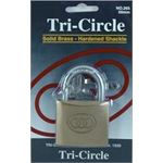 Photo of Tricircle 265 Brass Padlock 50mm 1 per Card