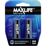 Photo of Maxlife AA Rechargeable Battery NIMH 2500MAH 2 Pack