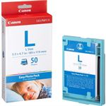 Photo of Canon EL50 Easy Photo Pack Large Size 50 Sheets for ES1 ES2 Photo Printer 50 Pack Of