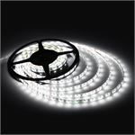 Photo of LEDware LED Flex Ribbon Strip Kit 12V 5m White LED/m Inc. Power Adapter