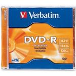 Verbatim DVD-R 1 pack jewel Case 4.7GB 16x