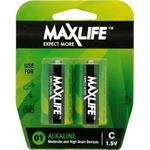 Photo of Maxlife C Alkaline Battery 2 Pack