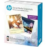 Photo of HP Social Media Snapshots Removable Sticky Photo Paper-25 sht/4 x 5 in