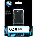 HP 02 AP Black Ink Cartridge
