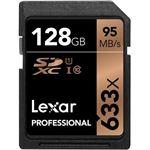Photo of Lexar Professional SDXC Card 633x U1 C10 128Gb
