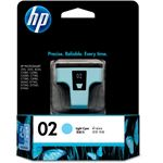 HP 02 AP Light Cyan Ink Cartridge
