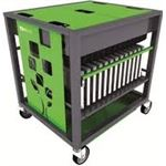 Photo of PC Locs Bundle: PCL6029:PC Locs Revolution Notebook Trolley (Green) - 28 Bay