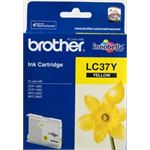 Photo of Brother LC37 Yellow Ink Cartridge