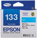 Epson 133 Standard Cyan Ink Cartridge For Stylus N11, NX125, NX420, WORKFORCE 320