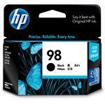 HP #98 Black Inkjet Print Cartridge