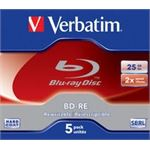 Photo of Verbatim Blue Ray BD-RE 2X 25GB 5pack