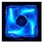 Photo of Deep Cool DEEPCOOL Case Fan DP-FLED-XF80LB 80mm x 25mm Transparent Frame with Blue LED
