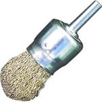 Jaz BE2602E End Brush 6mm Arbor 26 x 30 x .3mm Coated Steel 10000/20000 RPM