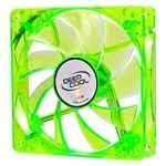 Photo of Deep Cool Deepcool Case Fan 120x120x25mm Green Transparent Frame with Blue LED