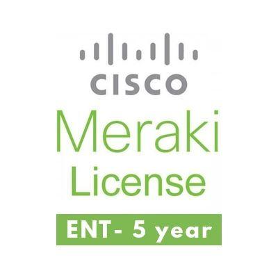 Meraki Wireless AP Cloud Controller, 5 year support (LIC-ENT-5YR)