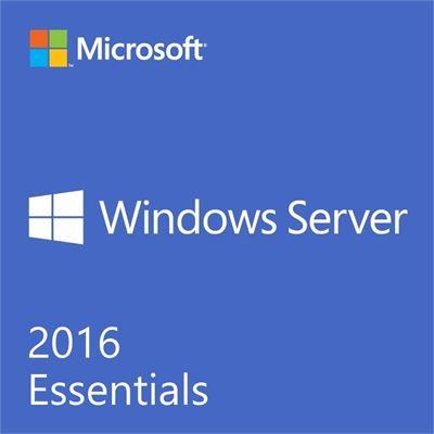 Microsoft Windows SVR ESSENTIALS 2016 64BIT ENGLISH 1PK DSP OEI DVD 1-2CPU