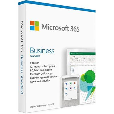 Microsoft 365 Business Standard - 1 User - 1 Year