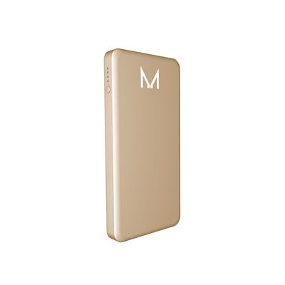 Moyork LUMO 10,000 mAh Power Bank - Dubai Gold