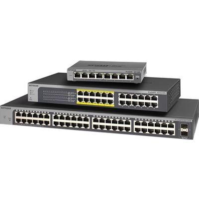 Netgear GS108PE (ProSafe Plus 8-port Gigabit Switch with 4-port PoE)