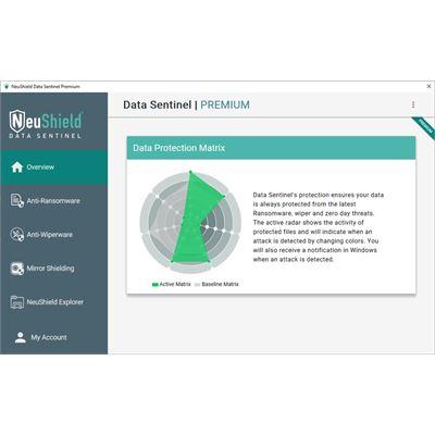 NeuShield Data Sentinel Premium One Hundred Workstation License - 1 yr