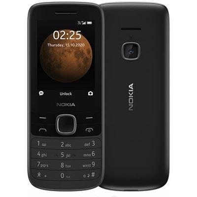 Nokia 225 4G Black- 2.4' Display, Unisoc T117 CPU, 64MB ROM,128MB RAM, 16GB MicroSD