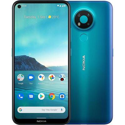 Nokia 3.4 64GB Fjord - 6.3' HD+ Punch Hole Display, RAM 3GB, Qualcomm® Snapdragon™